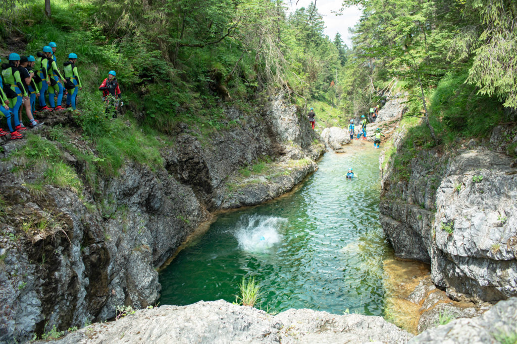 """Canyoning Tour Level 2 """"GO VERTICAL"""""""